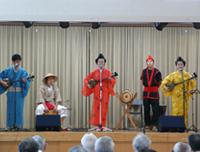琉球音楽のコンサート
