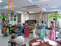 ハワイアン音楽とフラダンス